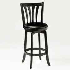 "Swivel 30"" Savana Bar Stool with Cushion"