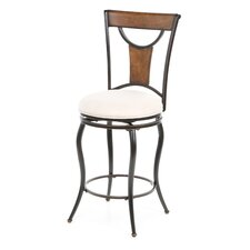 "Pacifico 26"" Swivel Bar Stool with Cushion"
