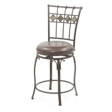 "<strong>Hillsdale Furniture</strong> Lakeview 24"" Swivel Bar Stool"