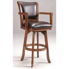 "Park View 30"" Swivel Bar Stool with Cushion"