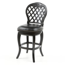 "Braxton 26"" Swivel Bar Stool with Cushion"