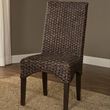 Simply Sydney Water Hyacinth Side Chair (Set of 2)