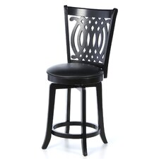 "Van Draus 24"" Swivel Bar Stool with Cushion"