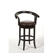 "30"" Apsley Swivel Bar Stool with Cushion"