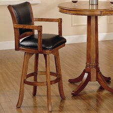 "30"" Park View Swivel Bar Stool with Cushion"