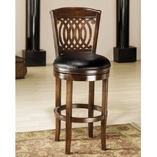 "<strong>Hillsdale Furniture</strong> Vienna 24"" Swivel Bar Stool with Cushion"