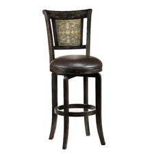 "Camille 26.5"" Swivel Bar Stool with Cushion"