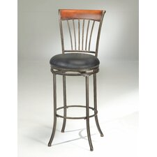 "Riley 26"" Swivel Bar Stool with Cushion"