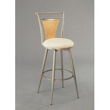 "London 24"" Swivel Bar Stool with Cushion"