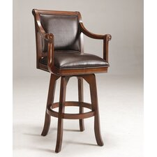 "<strong>Hillsdale Furniture</strong> Palm Springs 30"" Swivel Bar Stool with Cushion"
