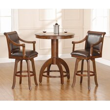 <strong>Hillsdale Furniture</strong> Palm Springs 3 Piece Pub Table Set