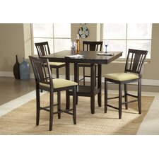 Arcadia 5 Piece Counter Height Dining Set