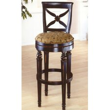 "<strong>Hillsdale Furniture</strong> Normandy 30"" Swivel Bar Stool with Cushion"