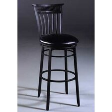 "<strong>Hillsdale Furniture</strong> Cottage 26"" Swivel Bar Stool with Cushion"