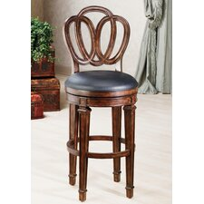 "Dover 30"" Swivel Bar Stool with Cushion"