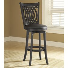 "<strong>Hillsdale Furniture</strong> Van Draus 24"" Swivel Bar Stool"