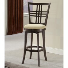 "<strong>Hillsdale Furniture</strong> Tiburon II 30"" Swivel Bar Stool with Cushion"