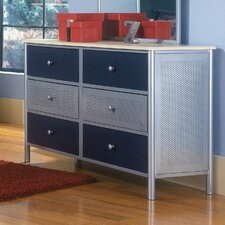 <strong>Hillsdale Furniture</strong> Universal Youth 6-Drawer Dresser