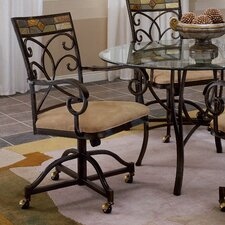 <strong>Hillsdale Furniture</strong> Pompei Arm Chairs (Set of 2)
