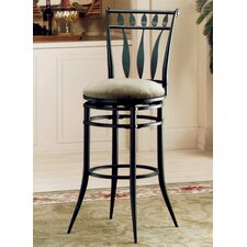 "<strong>Hillsdale Furniture</strong> Hudson 26"" Swivel Bar Stool with Cushion"