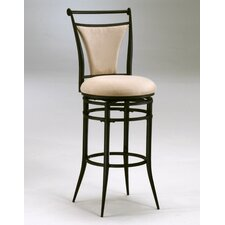 "Cierra 26"" Swivel Bar Stool with Cushion"
