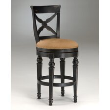 "<strong>Hillsdale Furniture</strong> Northern Heights 26"" Swivel Bar Stool with Cushion"