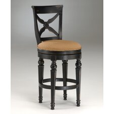 "<strong>Hillsdale Furniture</strong> Northern Heights 30"" Swivel Bar Stool with Cushion"