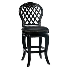 "Braxton 30"" Swivel Bar Stool with Cushion"