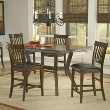 <strong>Hillsdale Furniture</strong> Arbor Hill 5 Piece Counter Height Dining Set