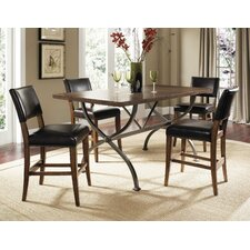 <strong>Hillsdale Furniture</strong> Cameron 5 Piece Counter Height Dining Set