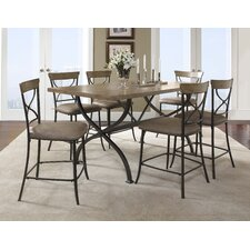 <strong>Hillsdale Furniture</strong> Charleston 7 Piece Counter Height Dining Set
