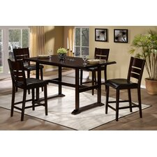 Whitfield 5 Piece Counter Height Dining Set