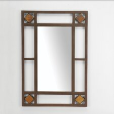 <strong>Hillsdale Furniture</strong> Lakeview Console Mirror in Metallic Brown