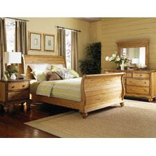 Hamptons Sleigh 4 Piece Bedroom Collection
