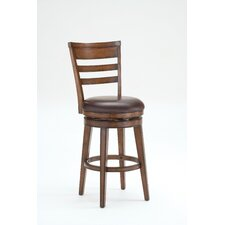 "Villagio 47"" Swivel Bar Stool with Cushion"
