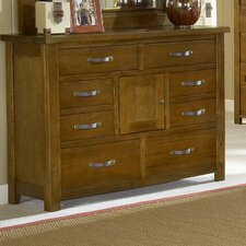 <strong>Hillsdale Furniture</strong> Outback 8 Drawer Combo Dresser