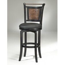 "<strong>Hillsdale Furniture</strong> Norwood 26.5"" Swivel Bar Stool with Cushion"