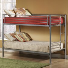 <strong>Hillsdale Furniture</strong> Universal Youth Twin over Twin Bunk Bed with Built-In Ladder