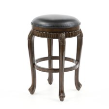 "<strong>Hillsdale Furniture</strong> Fleur De Lis 30"" Swivel Bar Stool with Cushion"