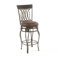 "Montello 27.5"" Swivel Bar Stool with Cushion"