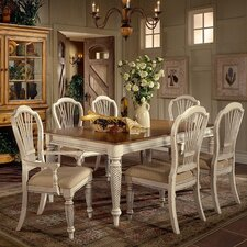<strong>Hillsdale Furniture</strong> Wilshire 7 Piece Dining Set