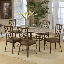 <strong>Hillsdale Furniture</strong> Brookside 7 Piece Dining Set