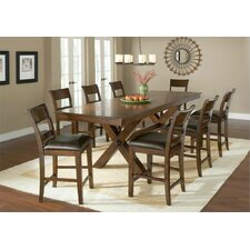 <strong>Hillsdale Furniture</strong> Park Avenue 9 Piece Counter Height Dining Set