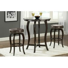 <strong>Hillsdale Furniture</strong> Wilmington 3 Piece Pub Table Set