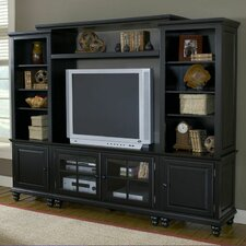 "<strong>Hillsdale Furniture</strong> Grand Bay 95"" Entertainment Center"