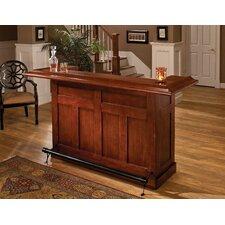 Classic Oak Home Bar