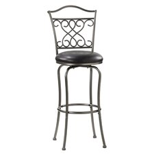 "Wayland 30"" Swivel Barstool in Pewter"