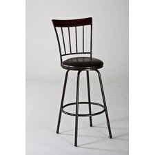 Cantwell Adjustable Height Swivel Bar Stool