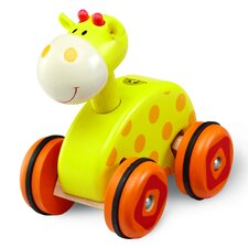 <strong>Wonderworld</strong> Giraffe Wheely Push/Scoot Ride-On