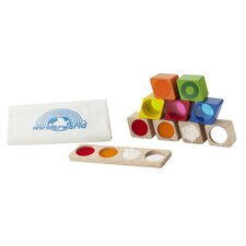 Wonder Sensory 9 Piece Block Set